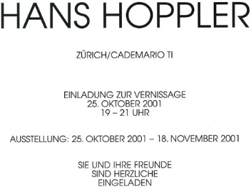 OM Hoppler Hans 2001-10-25